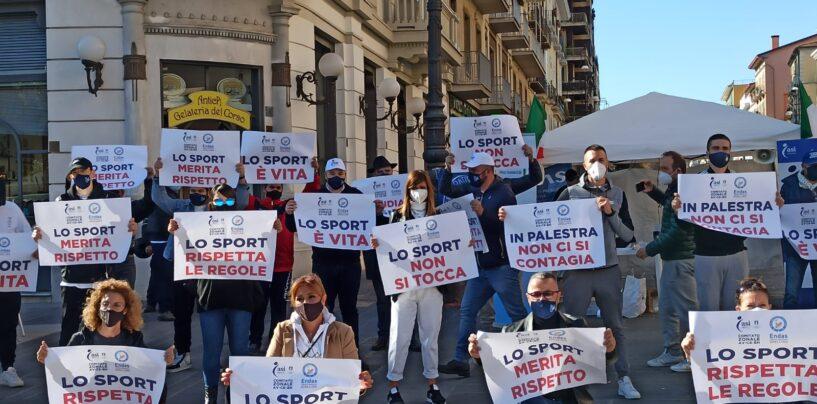 """""""Lo sport è anche salute. Ci ribelliamo alle chiusure perché significa limitare il benessere degli italiani"""". Palestre e non solo in piazza"""