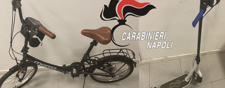 Napoli San Giuseppe, in manette un ladro di biciclette e monopattini