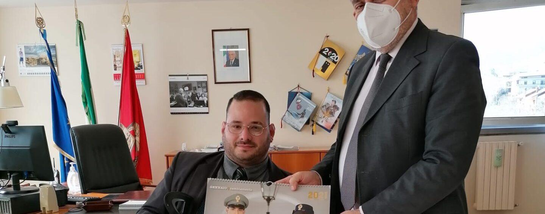 Mid, Giovanni Esposito incontra il Questore di Avellino Maurizio Terrazzi