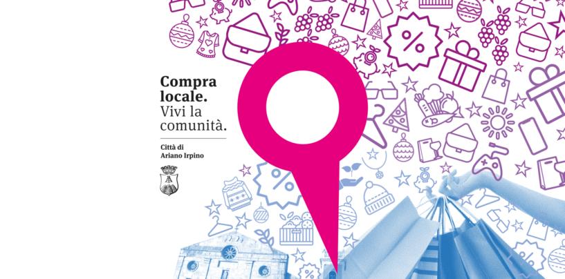 """""""Compra locale, vivi la comunità"""": l'invito di Ariano ad acquistare sul territorio"""