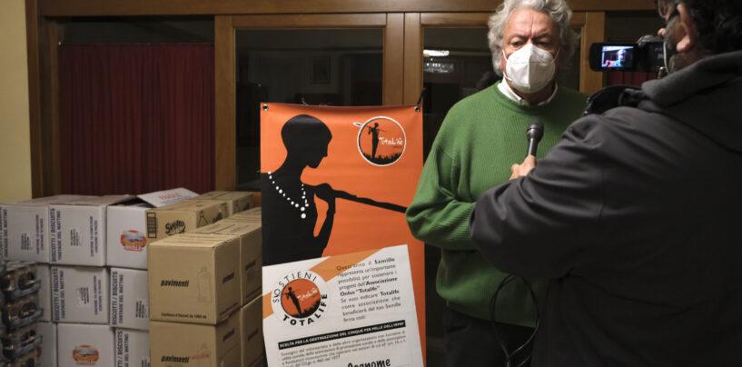 Totalife: maxi spesa solidale di Natale per 130 famiglie