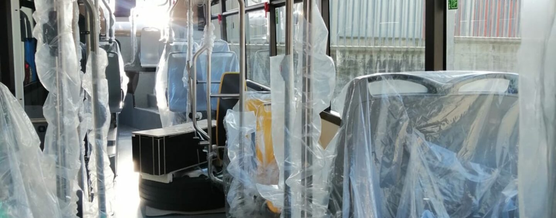 FOTO/ Air, presto i nuovi bus anche ibridi e con barriere anti-contagio