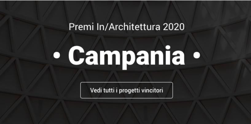 Premi In/ Architettura 2020, architetti irpini tra gli insigniti di premi e menzioni