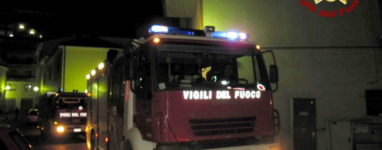 Incendio in appartamento a San Tommaso nella notte