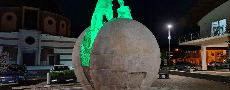 FOTO / I paesi si colorano di verde, ecco il tour solidale del Pino Irpino