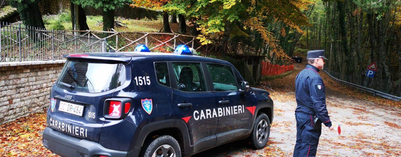 Con le moto da cross nell'area protetta del Parco del Partenio: Carabinieri sulle loro tracce