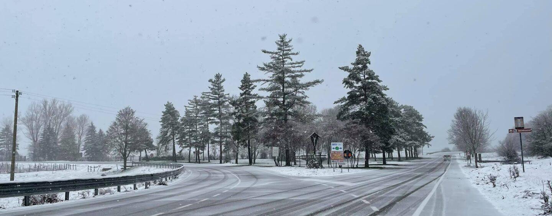 White Christmas (con un giorno di ritardo) in Irpinia: imbiancato anche il Laceno