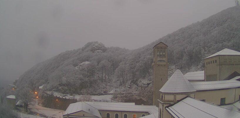 Santo Stefano con la neve a Montevergine