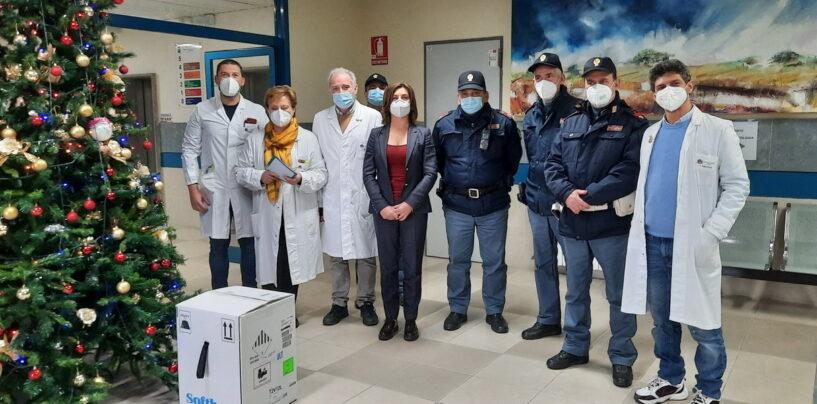 FOTO / Virus, parte anche la campagna vaccinale dell'Asl: ad Ariano ecco i primi 195 flaconi
