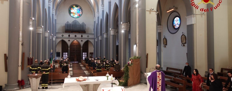 Chiesa del Rosario: Precetto Natalizio dei Vigili del Fuoco