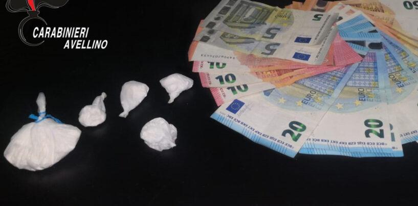 Pusher beccato con la cocaina: arrestato dai Carabinieri