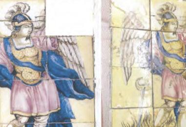 Contrada esulta: ritrovato il pannello di San Michele Arcangelo a sette anni dal furto