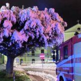 VIDEO/ Neve in Irpinia, vigili del fuoco impegnati in varie zone della provincia