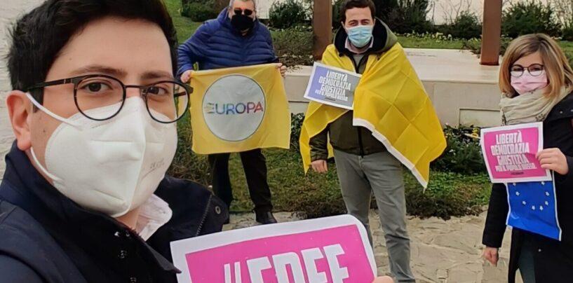 """Più Europa in piazza in tutta Italia per Alexey Navalny. Ad Avellino sotto """"Le ali della libertà"""""""