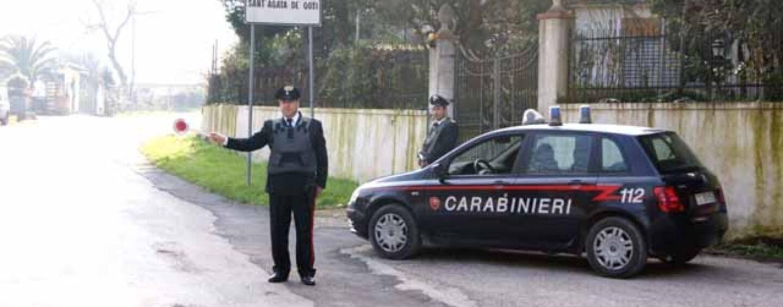 Durazzano (Bn), prima litiga e poi lo investe: arrestato dai Carabinieri