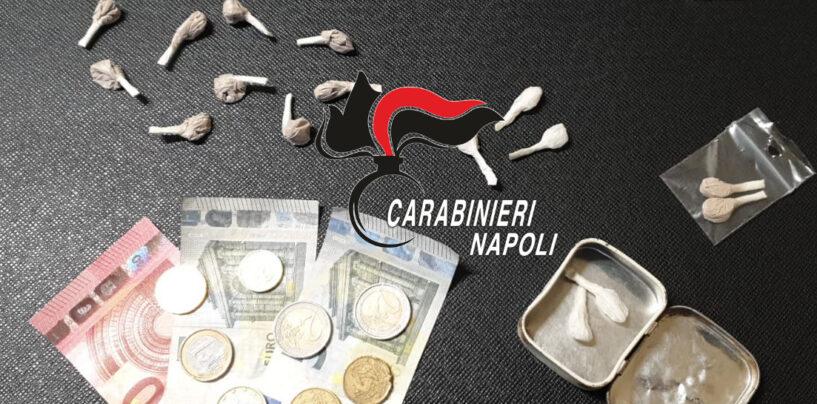 Servizi anti-droga dei Carabinieri: 2 pusher arrestati nel napoletano