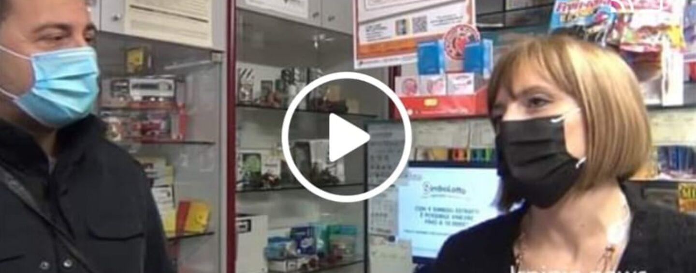 VIDEO/Altavilla Irpina in festa per la vincita dei 500.000 euro della lotteria
