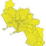 Covid-19: la Campania resta in zona gialla
