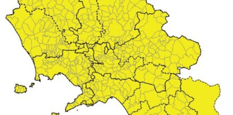 Campania resta ancora in zona gialla