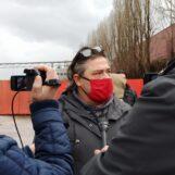 """FOTO E VIDEO / """"Lavoratori licenziati in piena pandemia e rifiuti inquinanti nello stabilimento"""". Novolegno, Rifondazione chiede di fare luce"""