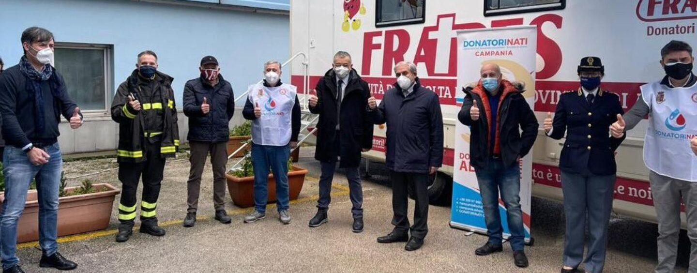 Tappa ad Avellino per DonatoriNati: 24 le donazioni effettuate