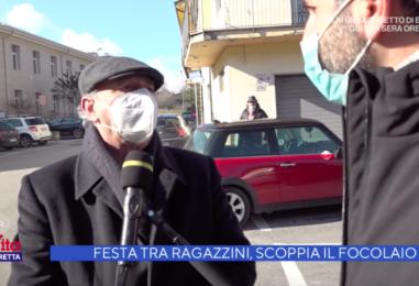 """23 positivi, 14 sono minorenni: il focolaio Covid di San Martino V. C. finisce a """"La Vita in Diretta"""""""