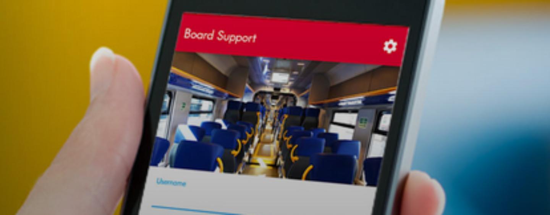 Trenitalia, Board Support: app per la sicurezza sui treni regionali