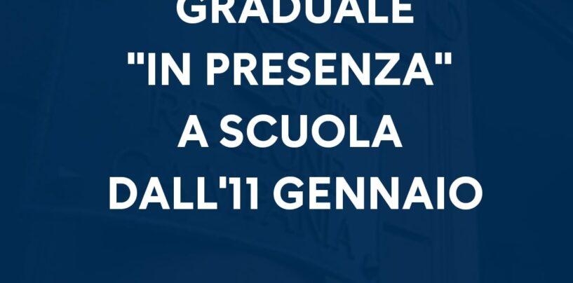 Scuole, in Campania in classe solo dall'11 gennaio. Ecco il calendario dei rientri