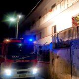 Sperone: incendio in un'abitazione