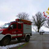 VIDEO / Campo Maggiore: vigili del Fuoco recuperano due persone rimaste bloccate nella neve