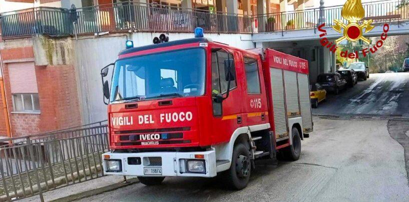 Abitazione in fiamme a Pietrastornina: i Vigili del Fuoco evitano guai peggiori