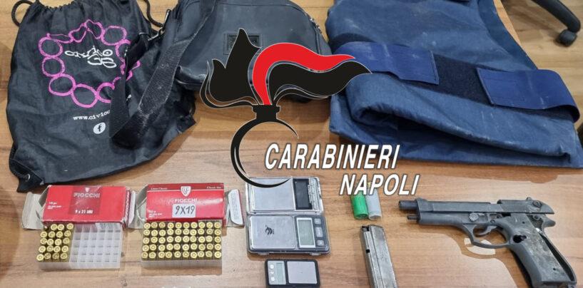 Arzano e Afragola, controlli dei Carabinieri: sequestrata una pistola e chiusa attività per violazioni covid