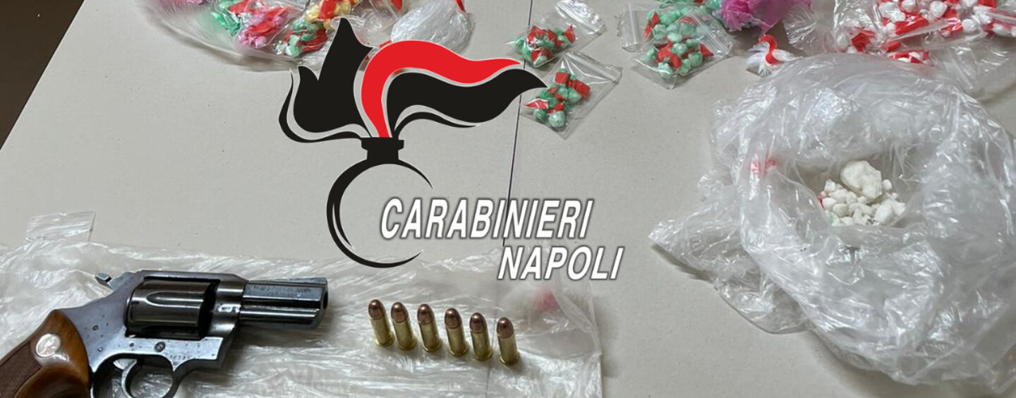 Sant'Anastasia, crack e cocaina: pusher in manette
