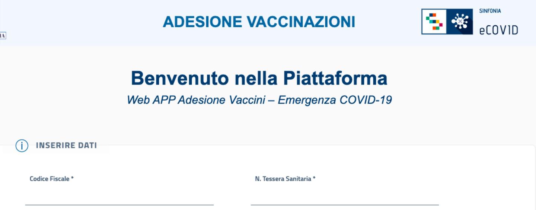 Adesioni campagna vaccinali, già più di 50mila gli iscritti alla piattaforma della Regione Campania