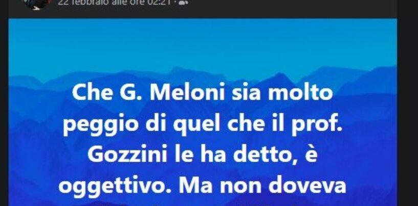 """Post Anzalone contro Giorgia Meloni, D'Ercole: """"Esternazioni vergognose"""""""