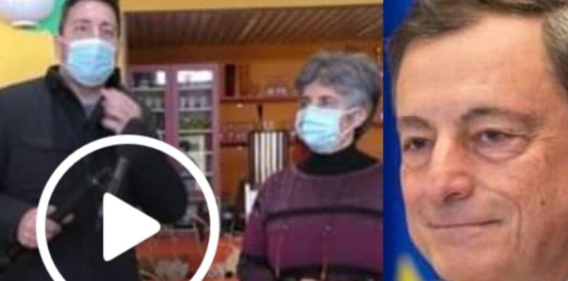 """VIDEO/Mario Draghi e i suoi pranzi a Monteverde: """"Braciola e ravioli i piatti preferiti"""""""