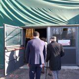 """FOTO E VIDEO / Coni, ecco i primi 300. Il sindaco Festa: """"Il nostro un centro vaccinale modello per tutta la Campania"""""""