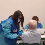 Regione Campania: vaccinati tutti gli over 80 deambulanti