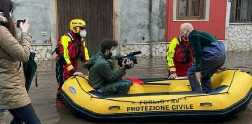 FOTO / Maltempo, ancora disagi a Celzi di Forino: evacuate tre famiglie. E il caso diventa nazionale
