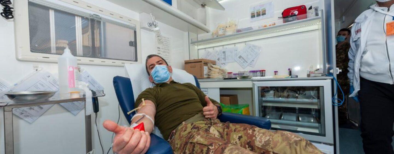 """Carenza sangue: il 232° reggimento trasmissioni di Avellino risponde all'appello del """"Moscati"""""""