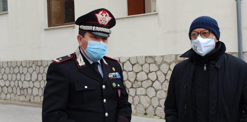 """FOTO / """"Partenio"""" e carabinieri forestali dichiarano guerra agli scempi ambientali nel parco. """"In arrivo strumenti tecnologici all'avanguardia"""""""