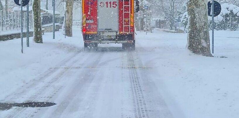 Irpinia: dopo la neve il ghiaccio