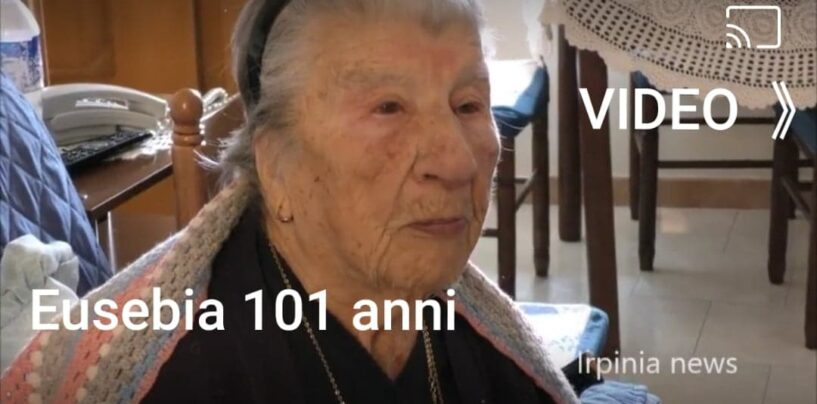 VIDEO/Monteverde, nonna Eusebia a 101 anni racconta la sua amicizia con la famiglia di Mario Draghi