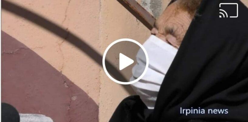 """""""A piedi da Calitri verso Bisaccia per vaccinarmi"""" Il racconto di Livia, nonna sprint di 86 anni/VIDEO"""