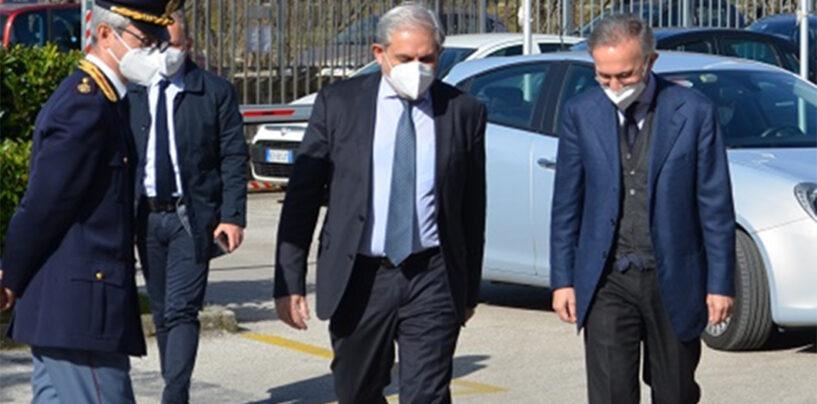 Questura di Avellino: il nuovo Procuratore in visita