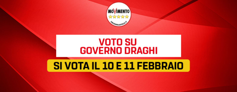 Governo Draghi, il Movimento 5 Stelle decide su Rousseau. Ecco quando si vota