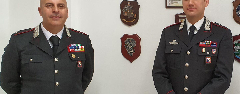 Carabinieri Avellino, sezione operativa: Francesco Caterino è il nuovo comandante