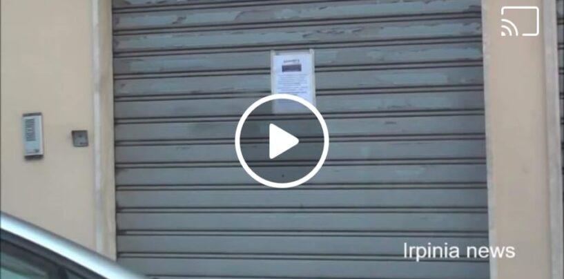Montefalcione, bar e negozi chiudono spontaneamente per evitare nuovi contagi Covid/VIDEO