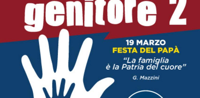 Festa del papà, flash-mob di Fratelli d'Italia ad Avellino contro dicitura genitore 1-2