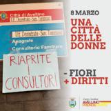 8 marzo, l'iniziativa di Avellino prende parte